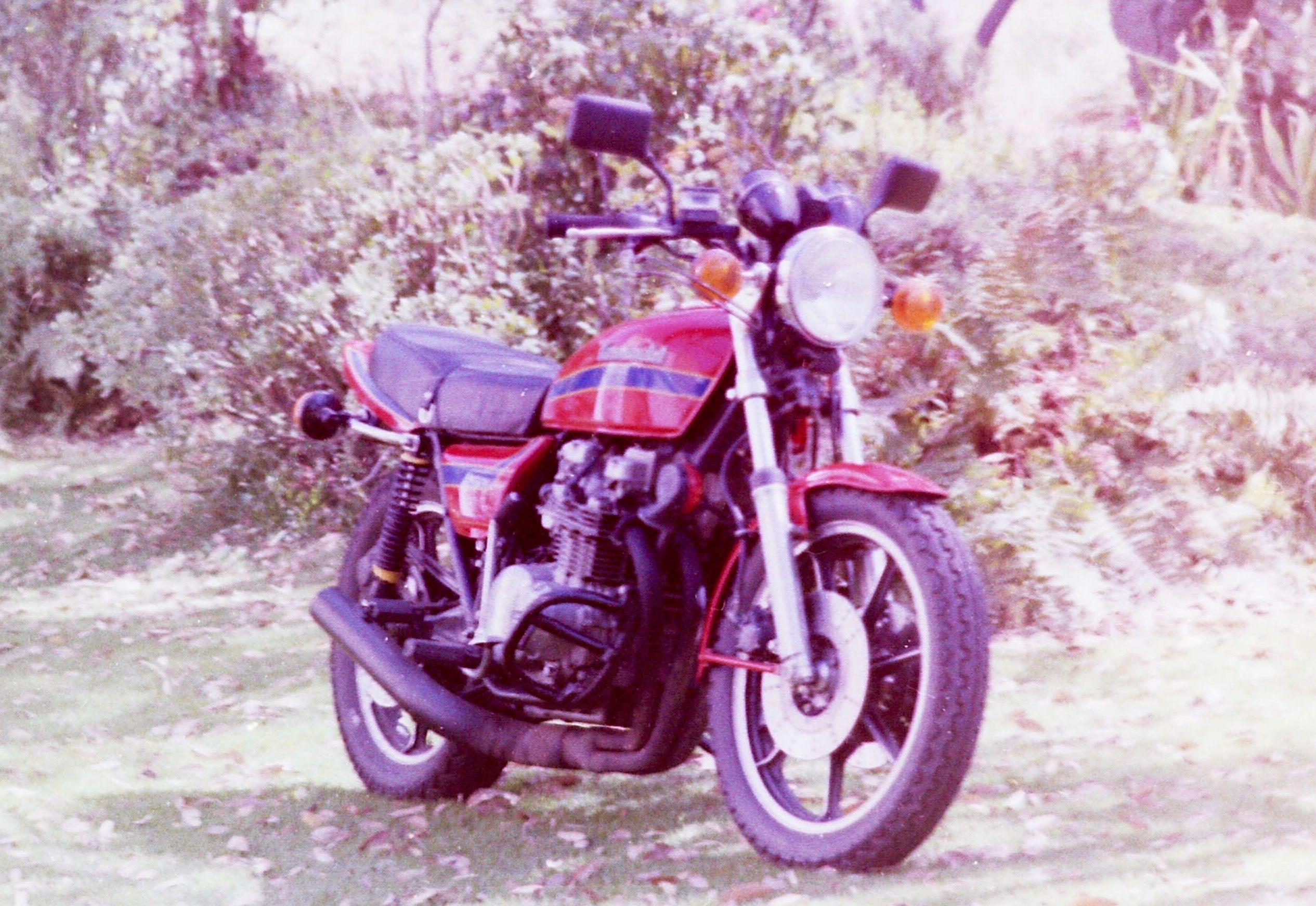 Aleta delantera KAWASAKI KZ 400 1980-1985 recambio moto