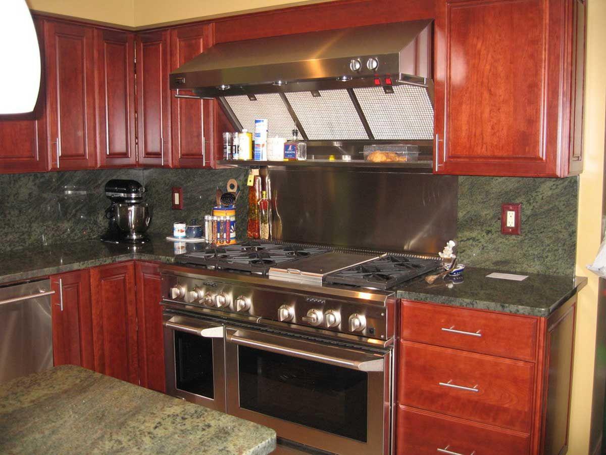 Best inspiration cherry green granite kitchen countertop submit ...