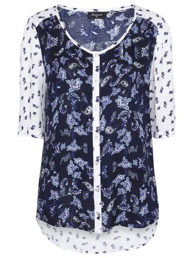 a275994e323f4 Namar' 3/4 Mixed Print Shirt   Westfield Kotara - $59.99   Fashion ...