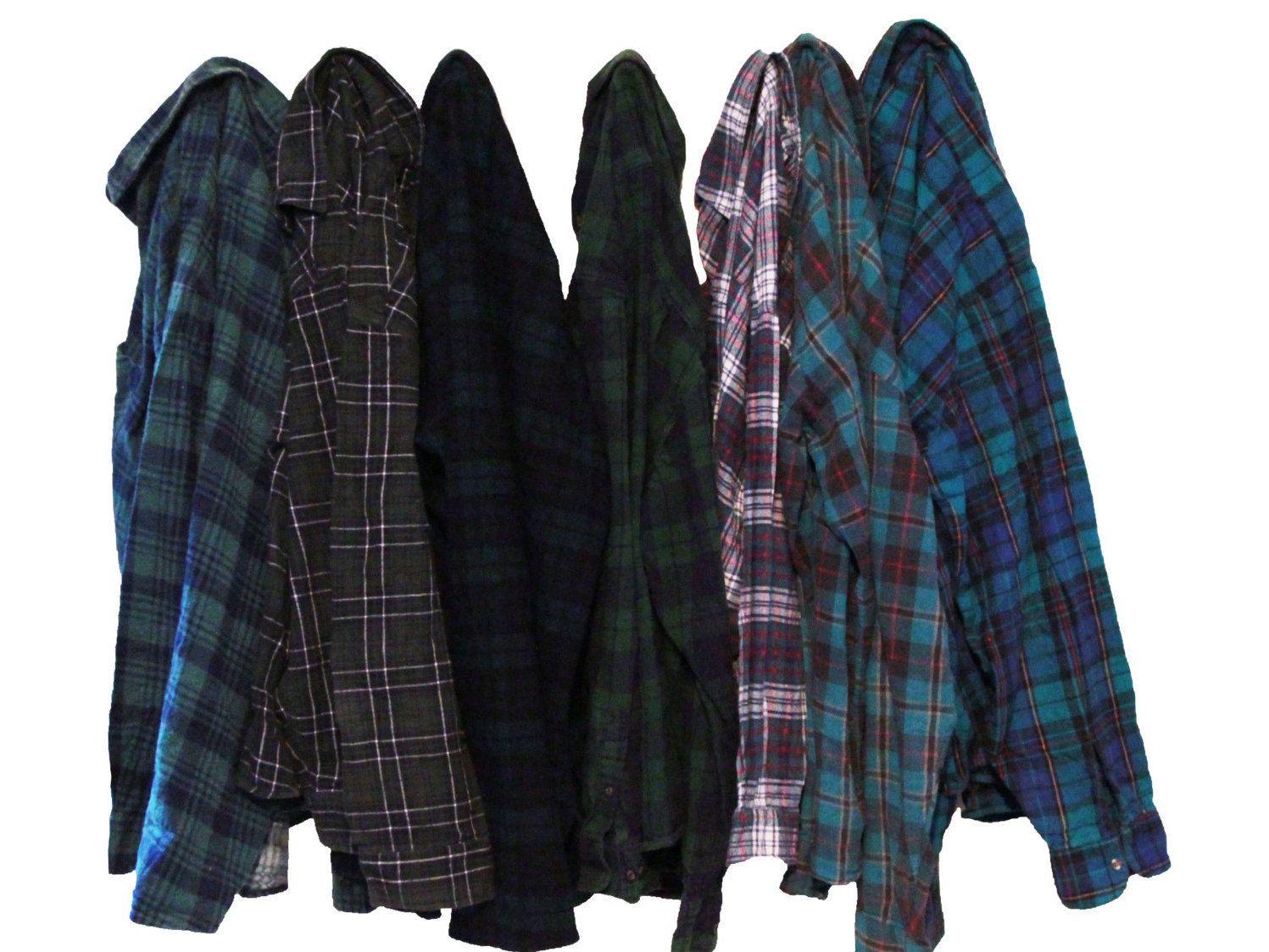 Flannel shirt vintage  Vintage Oversize Flannel Shirt Distressed Flannels  Oversized