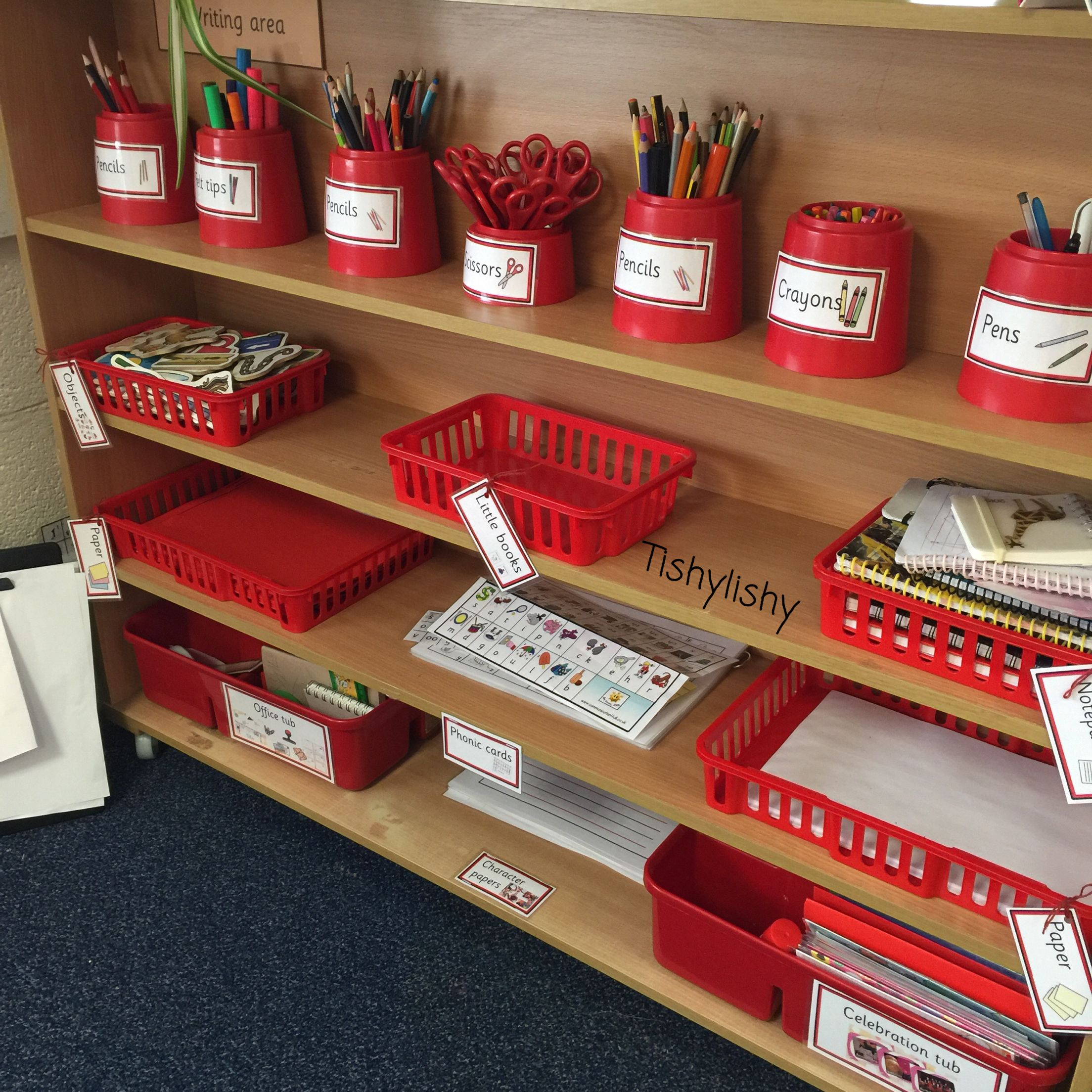 Labelled writing provision … | Reception | Pinterest ...