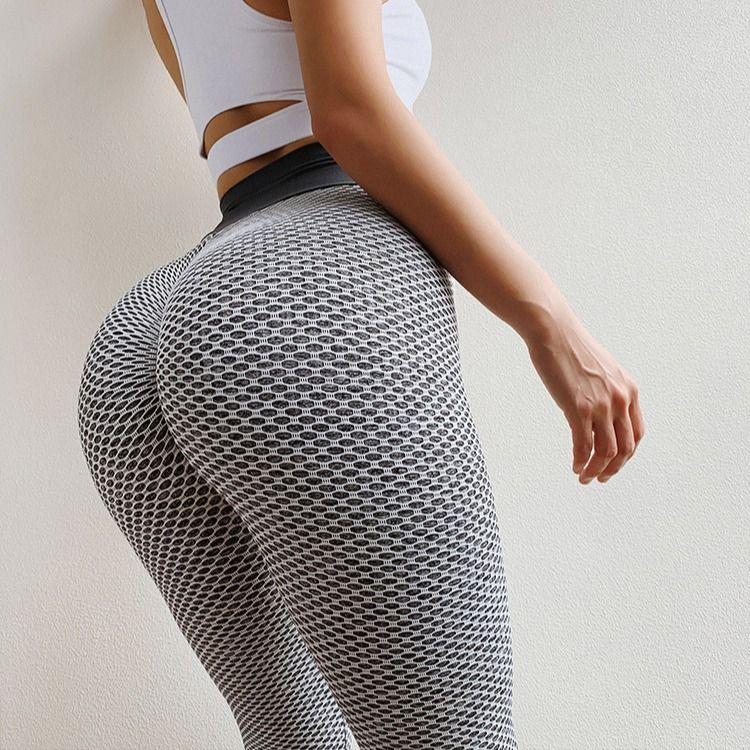 Women Fitness Tight Leggings Seamless High Waist Push Up mesh Legging Breathable Sport Women Fitness Sexy Gym Yoga Pants
