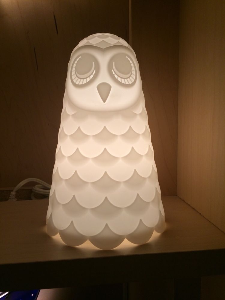 Ikea Owl Table Lamp Solbo Desk Light 9 Soft Table Nightlight