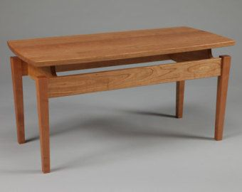 Caught In The Cypher Coffee Table Made To Order Table Cherry