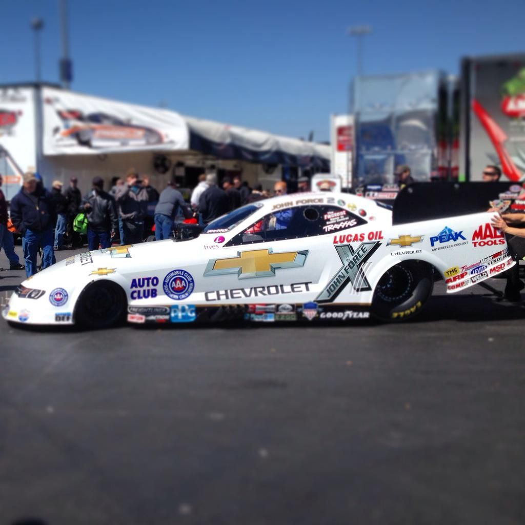 J. Force's @teamchevy Car This Wknd! #NHRA#4wide