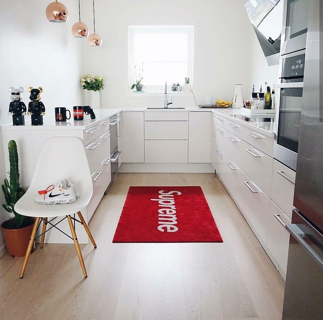 Hypebeast Inspired Room, With Kaws And Brick Bear Artwork