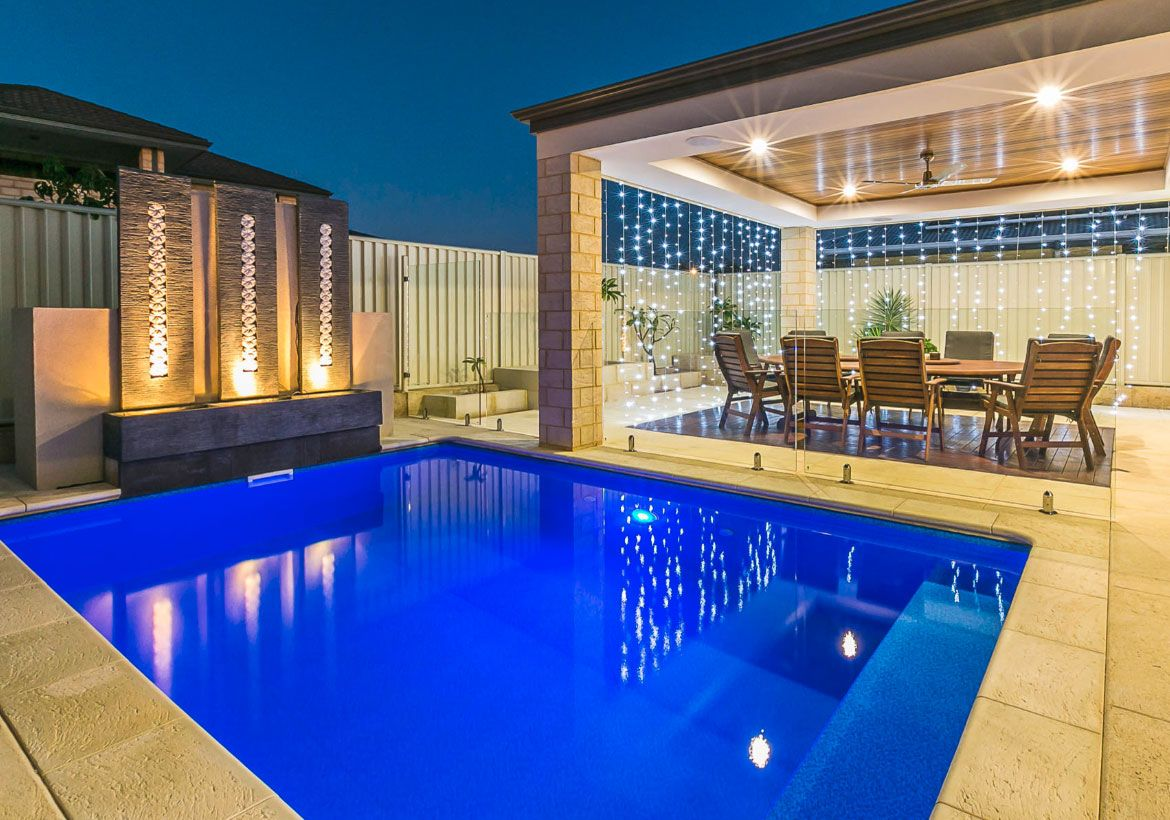 Extraordinary Backyard Ideas With Pool Backyard Backyard Patio