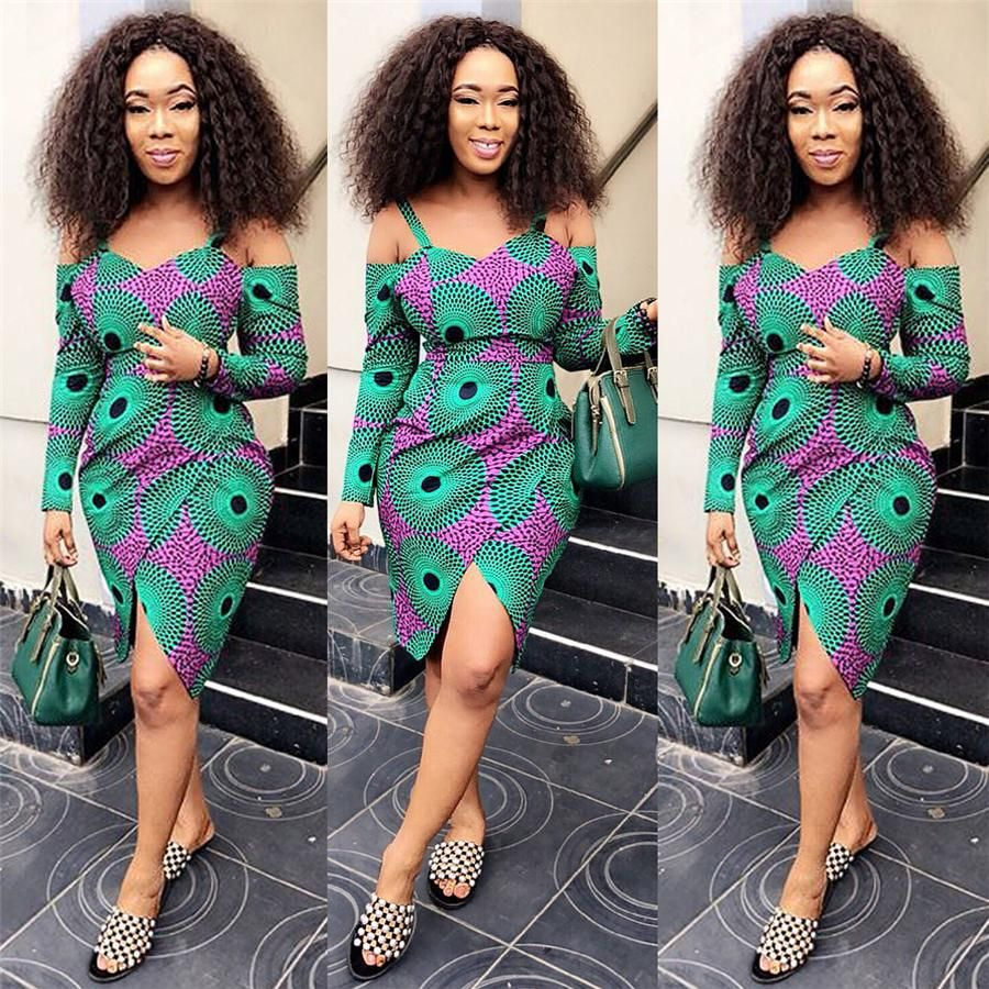 Sexy African Print Dresses For Women