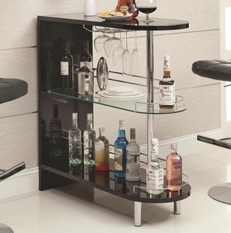 meuble bar de salon simple rond