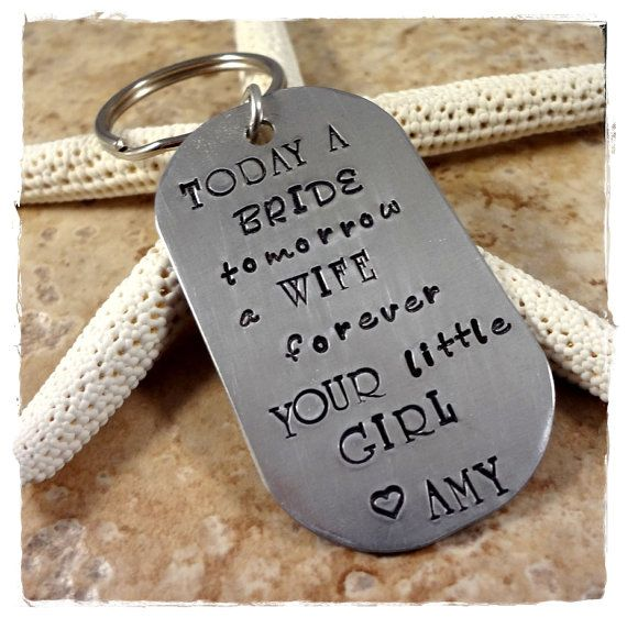Hey, I found this really awesome Etsy listing at https://www.etsy.com/listing/180561597/forever-your-little-girl-key-chain-from