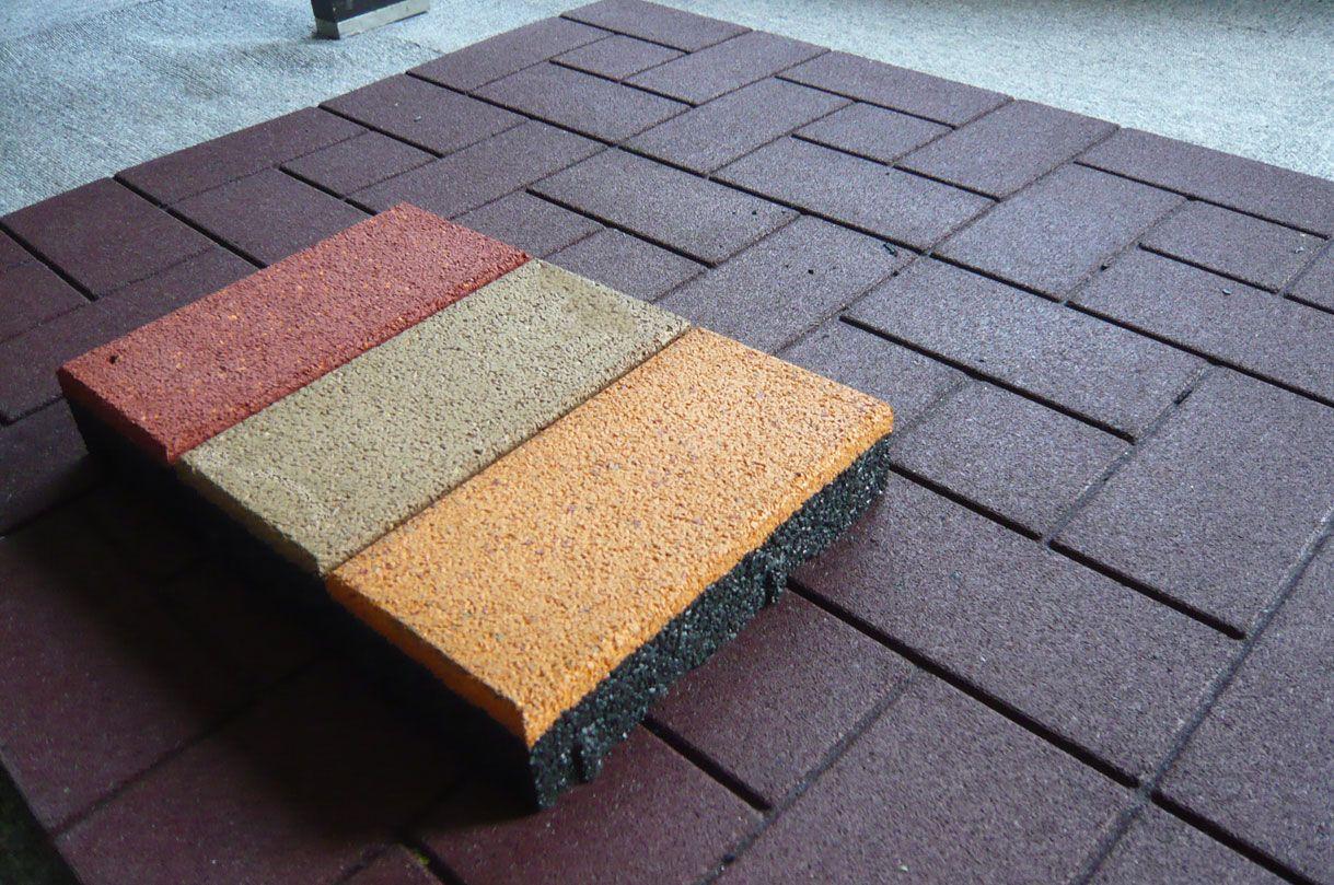 Rubber floor tiles rubber flooring options path ideas pinterest rubber floor tiles rubber flooring options doublecrazyfo Image collections