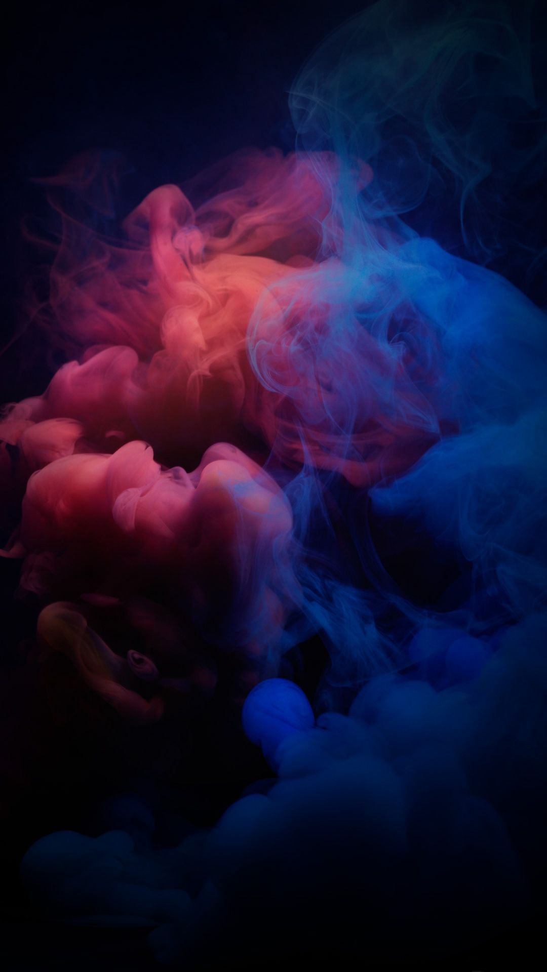 Smoke red blue dark wallpaper 1080x1920 2019 - Dark smoking wallpapers ...