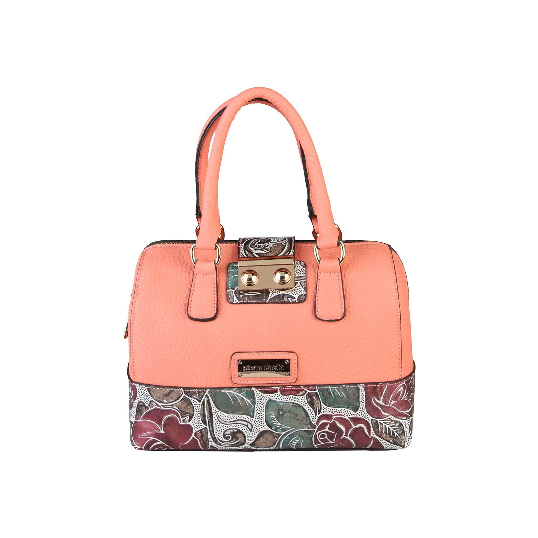 Pierre Cardin New Rose Pink Leather Hobo Bag Handbag hymlS3Ouy