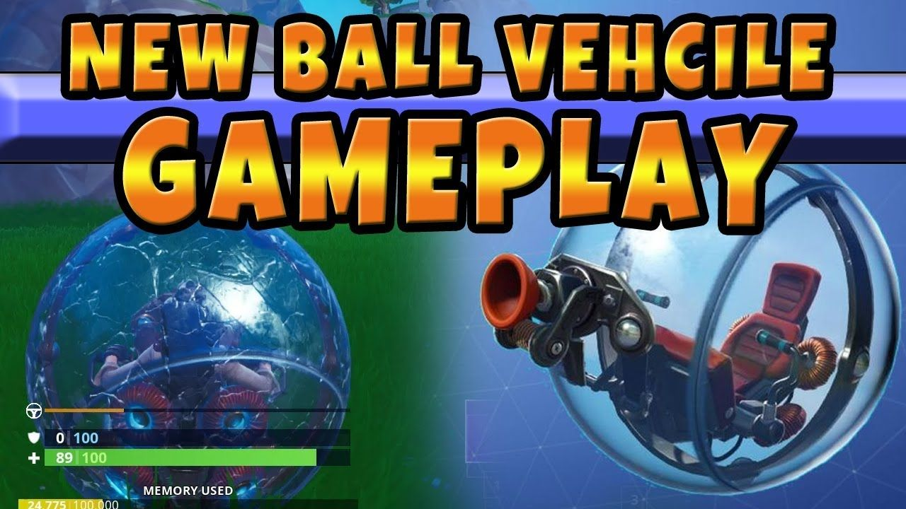 The New Baller Automobile Merchandise In Fortnite Gameplay