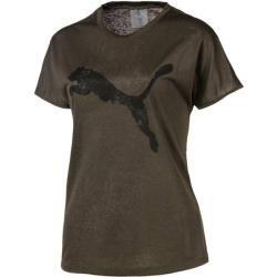 Puma Damen Shirt A.C.E. Crew, Größe M in Oliv/Schwarz, Größe M in Oliv/Schwarz Puma #shortsleevetee