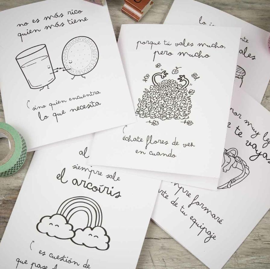 Mr_Wonderful_Shop_Tartjetas_wonderconsejos_02 - muymolon   Regalos para  novio hechos a mano, Cartas para novio, Carta de amor manualidades