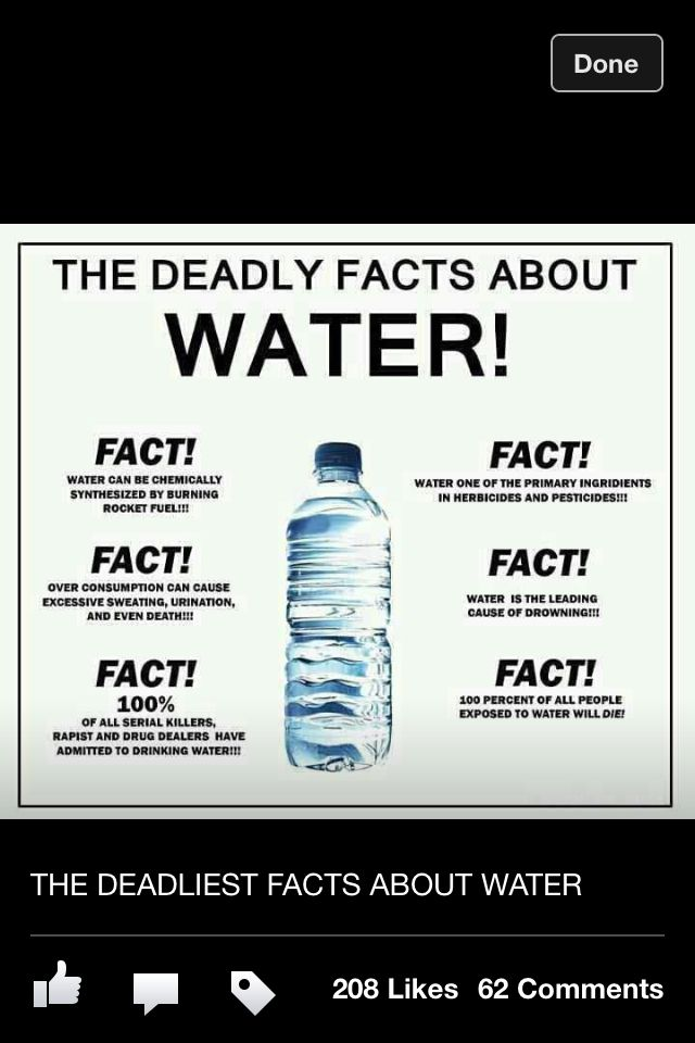 Dangers Of Water Personally Interesting Funny Funny Facts