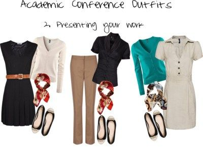 ec2b38d7c64 Academic Conference Wear 2.At your presentation