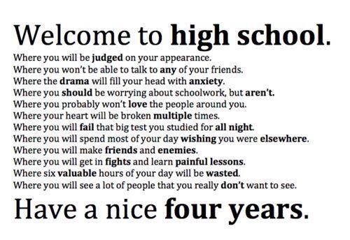 Quotes About High School Simple Ugh High Schoolso Glad This Is My Last Year  Quotes  Pinterest 2017