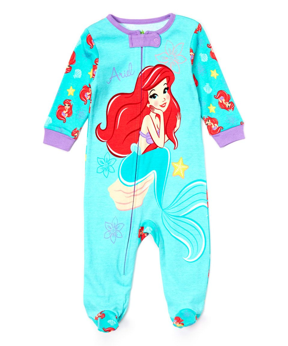 Love this Ariel Footie - Infant by Disney Baby on  zulily!  zulilyfinds a9f659647