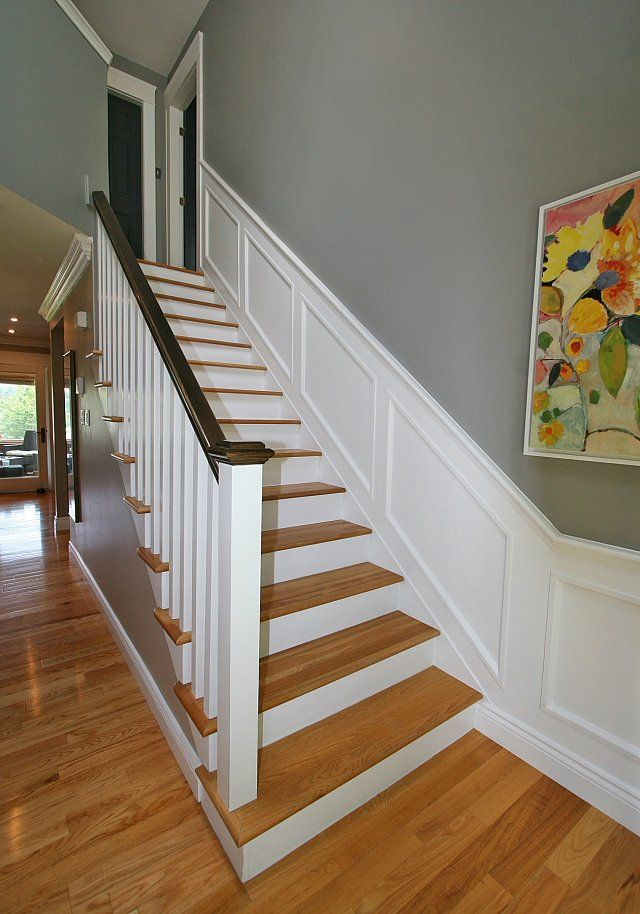 Best Mis Matched Wood Does Not Look Good Stairs Basement Stairs Stair Remodel 640 x 480