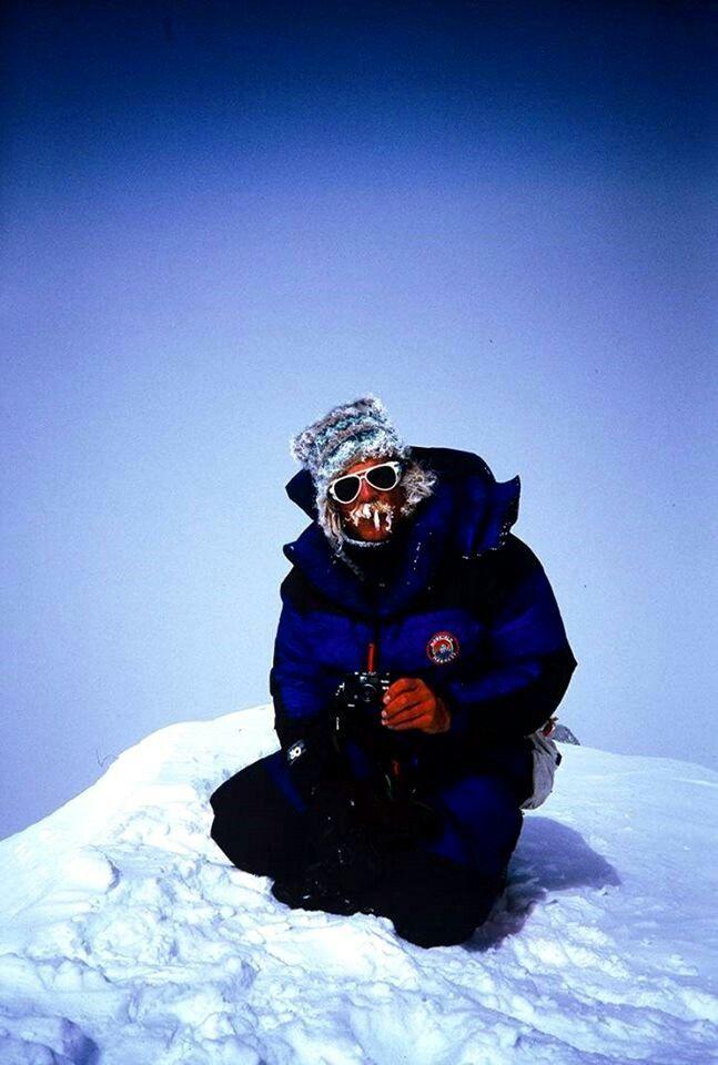 Scott Fisher on the summit