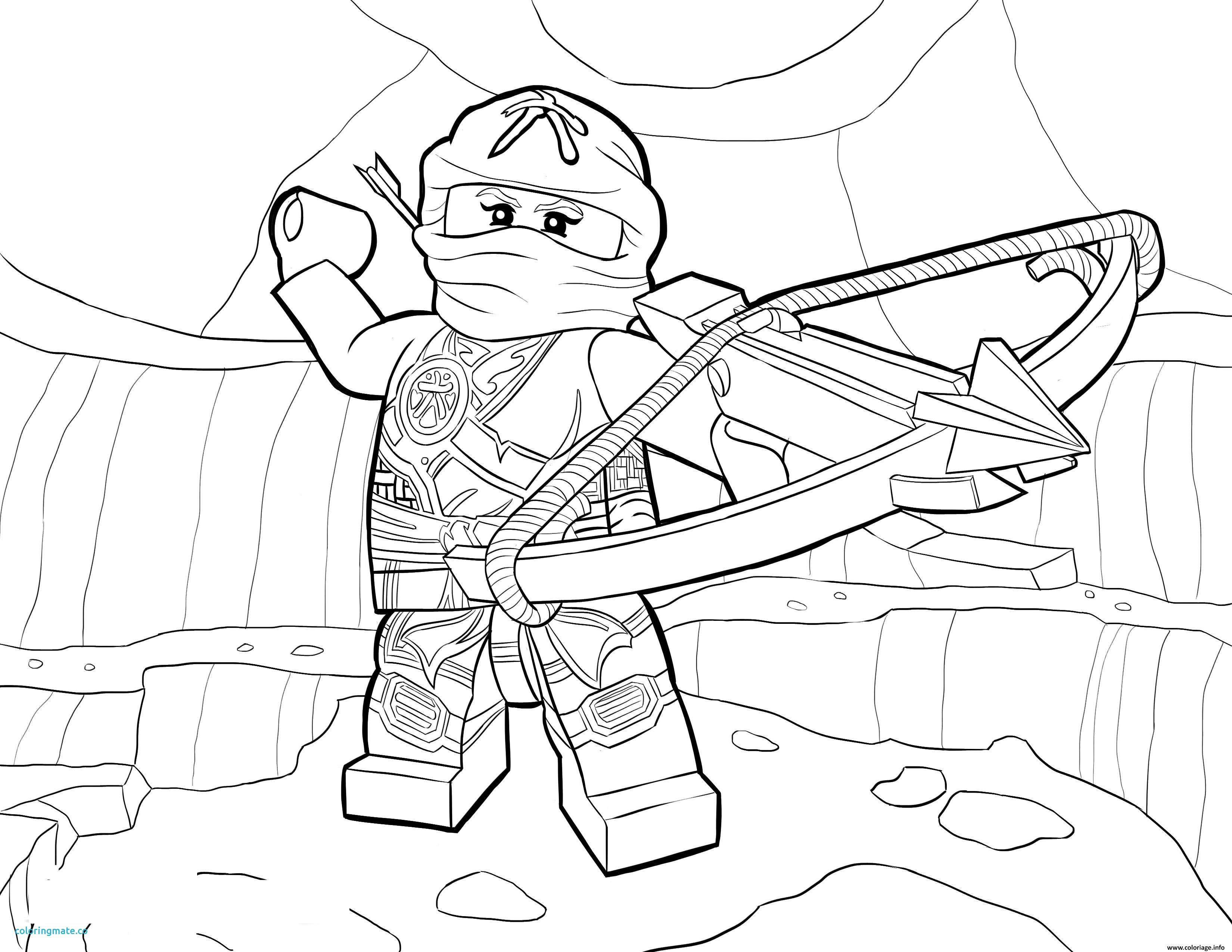 Ninjago Lego Coloring Pages Nya Basement T Lego
