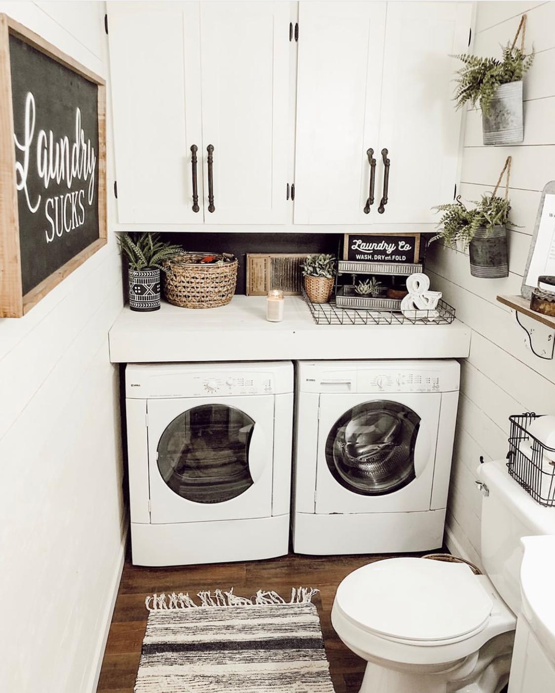 Farmhouse Laundry Room Home Decor Idea By Jessica Madison Home