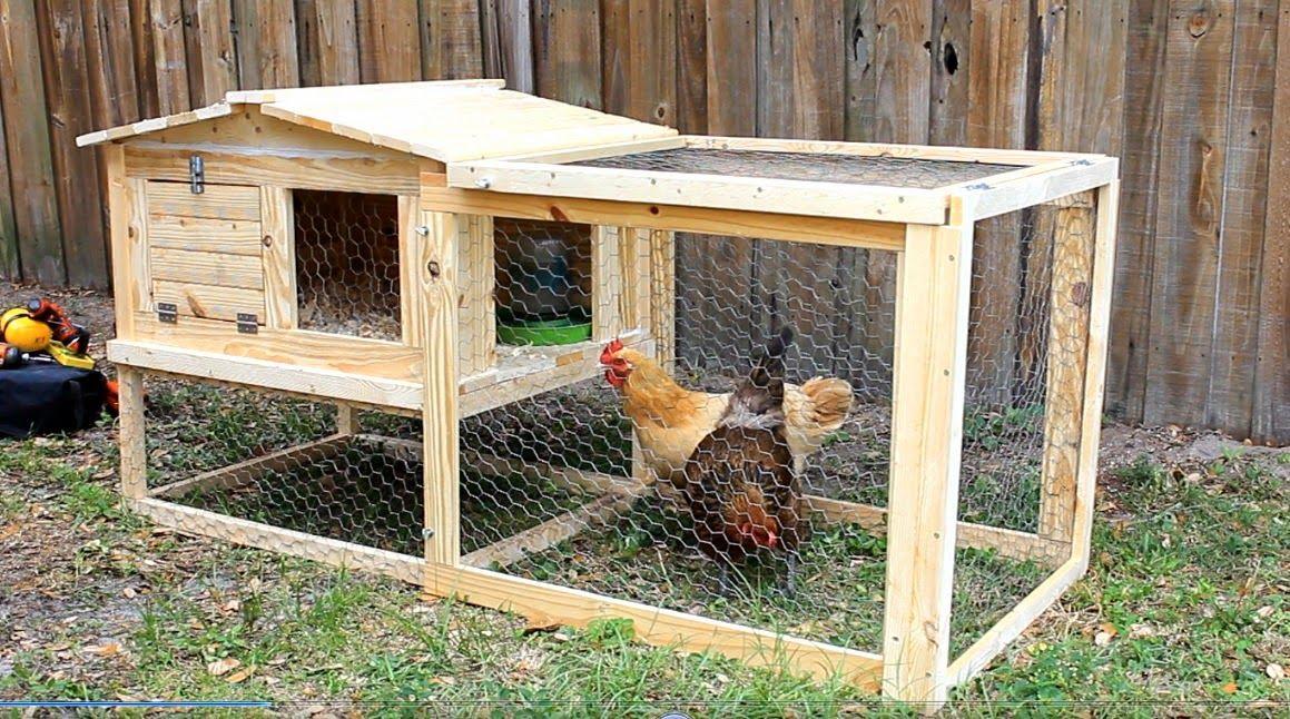 Charmant Simply Easy Diy: DIY: Small Backyard Chicken Coop
