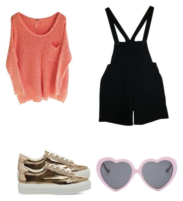 """""""Untitled #250"""" by dahianne-g on Polyvore featuring American Apparel, Office and Vans"""