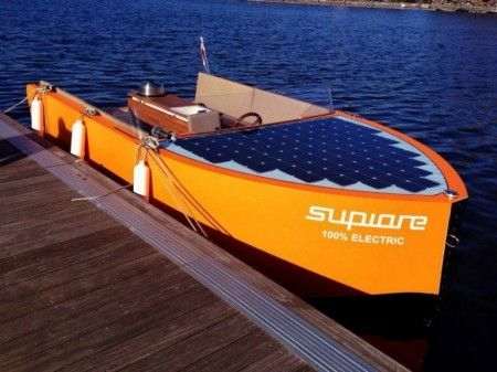 Supiore Uno is a Luxury Boat 100% Powered by Electricity