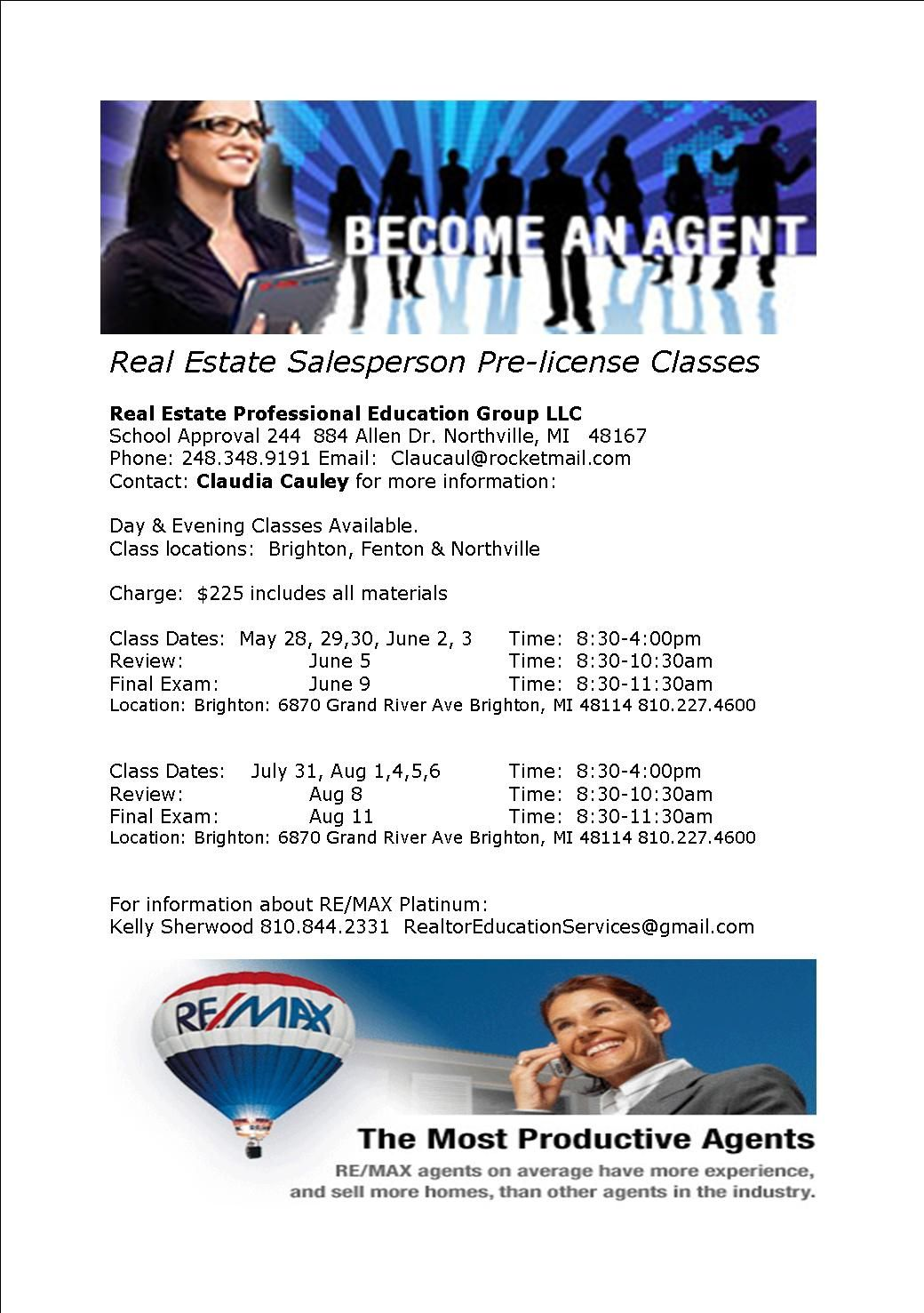 Ever thing about becoming a Real Estate Agent? We are ...
