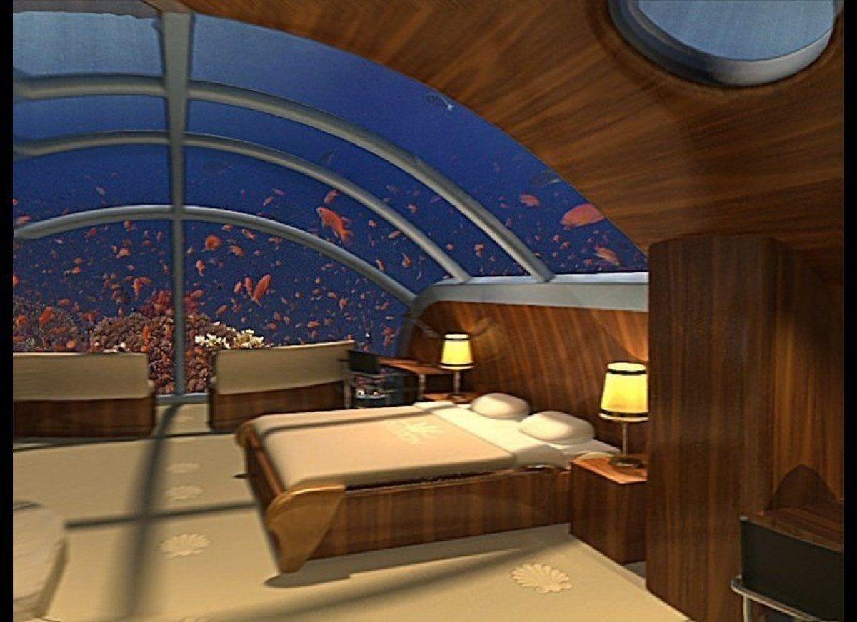 poseidon underwater hotel. Themed Hotel Rooms: Poseidon Undersea Resort\u0027s Nautilus Suite, Fiji. Underwater N