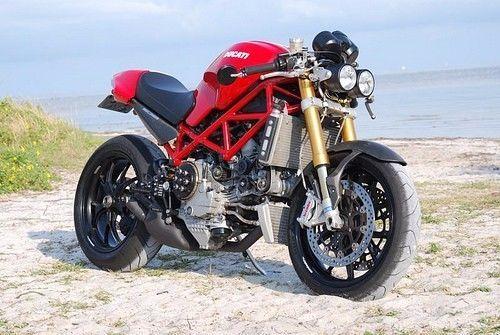 Ducati Monster 400 600 620 695 750 900 Dominator Twin Dual Headlight