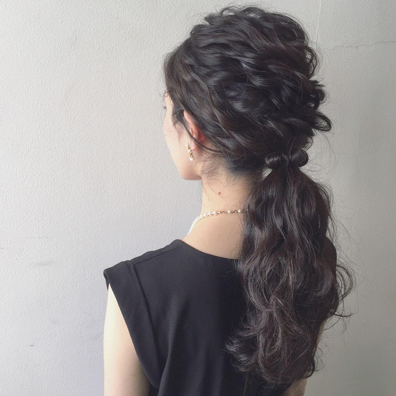 Kaneko Mayumi Hair Arrange 黒髪アレンジ 黒髪 ヘアアレンジ