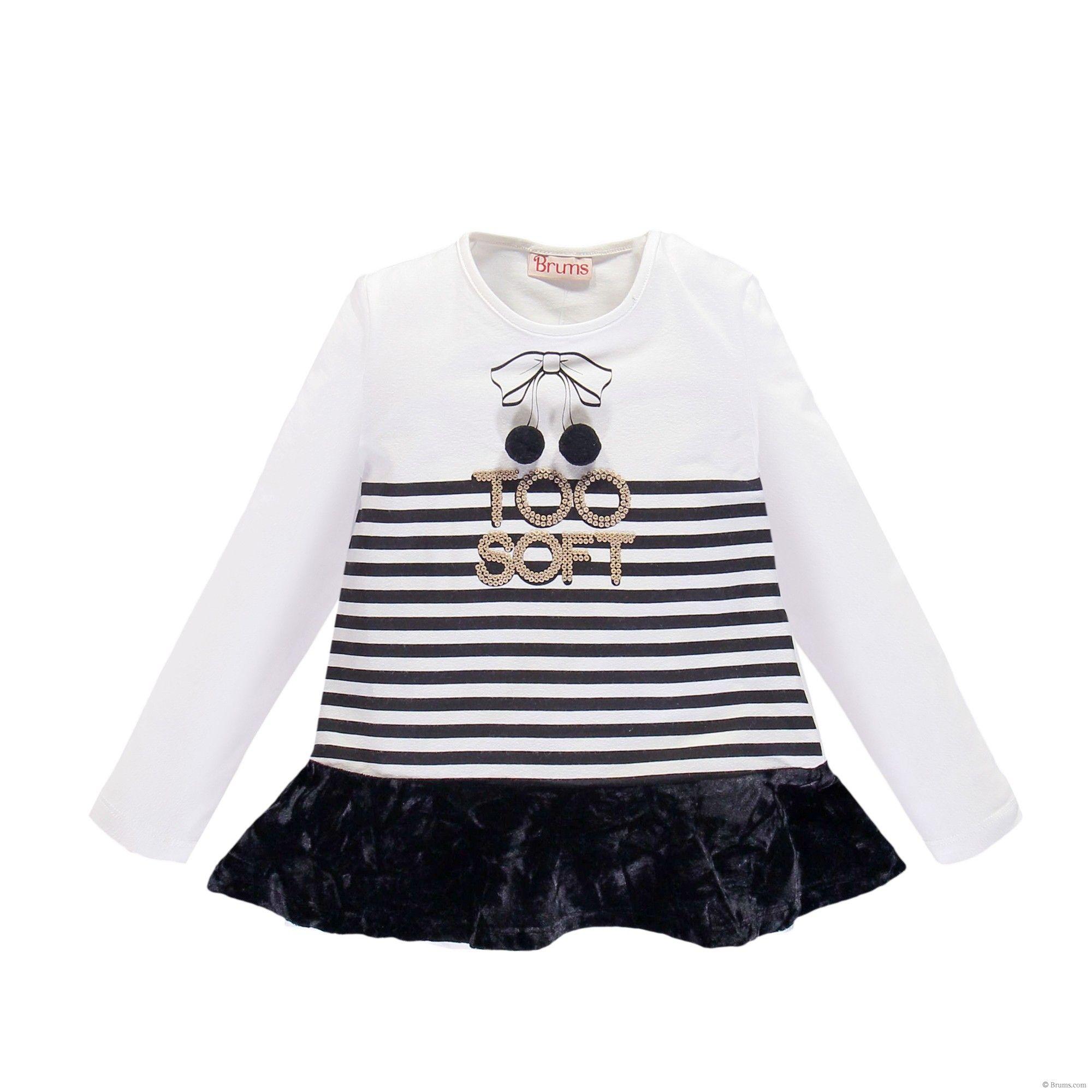 Brums T-Shirt Jersey Ins Camiseta de Manga Larga para Beb/és