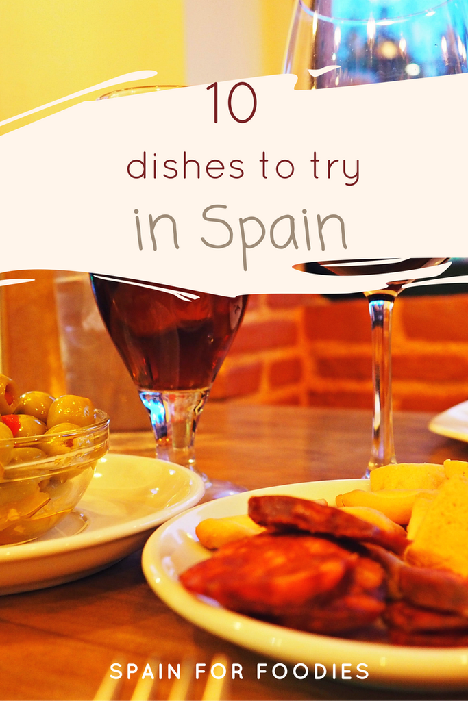 dishes to try in #Spain #food #dishes