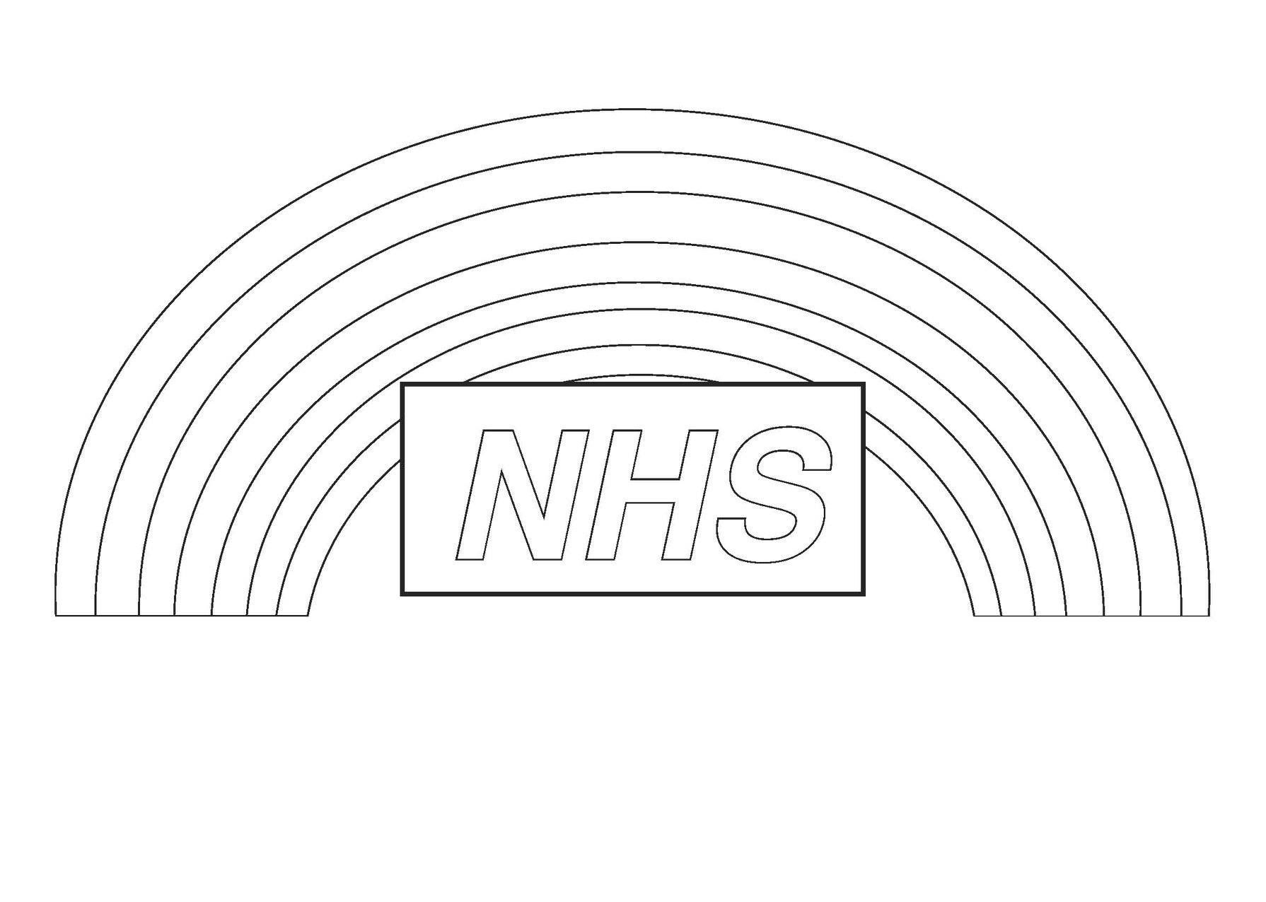 Nhs Colouring Page Coloring Pages Colouring Pages Mindfulness Colouring