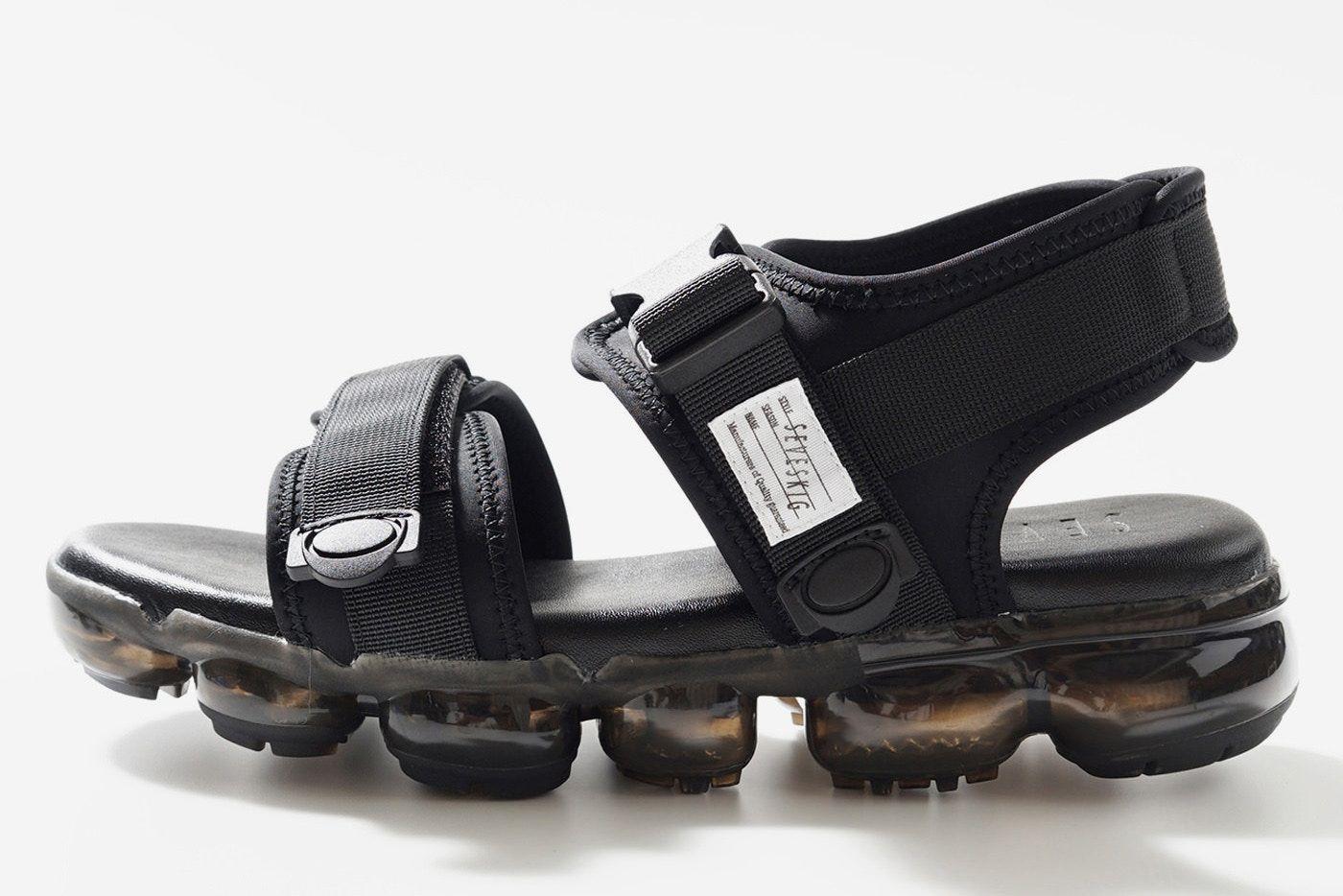 Seveskig Shows Off Clear Sole Sandals For Summer 2018 Sandals