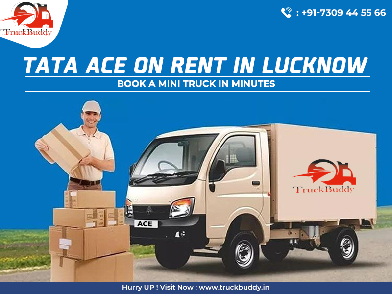 Tata Ace On Rent In Lucknow In 2020 Mini Trucks Trucks Books