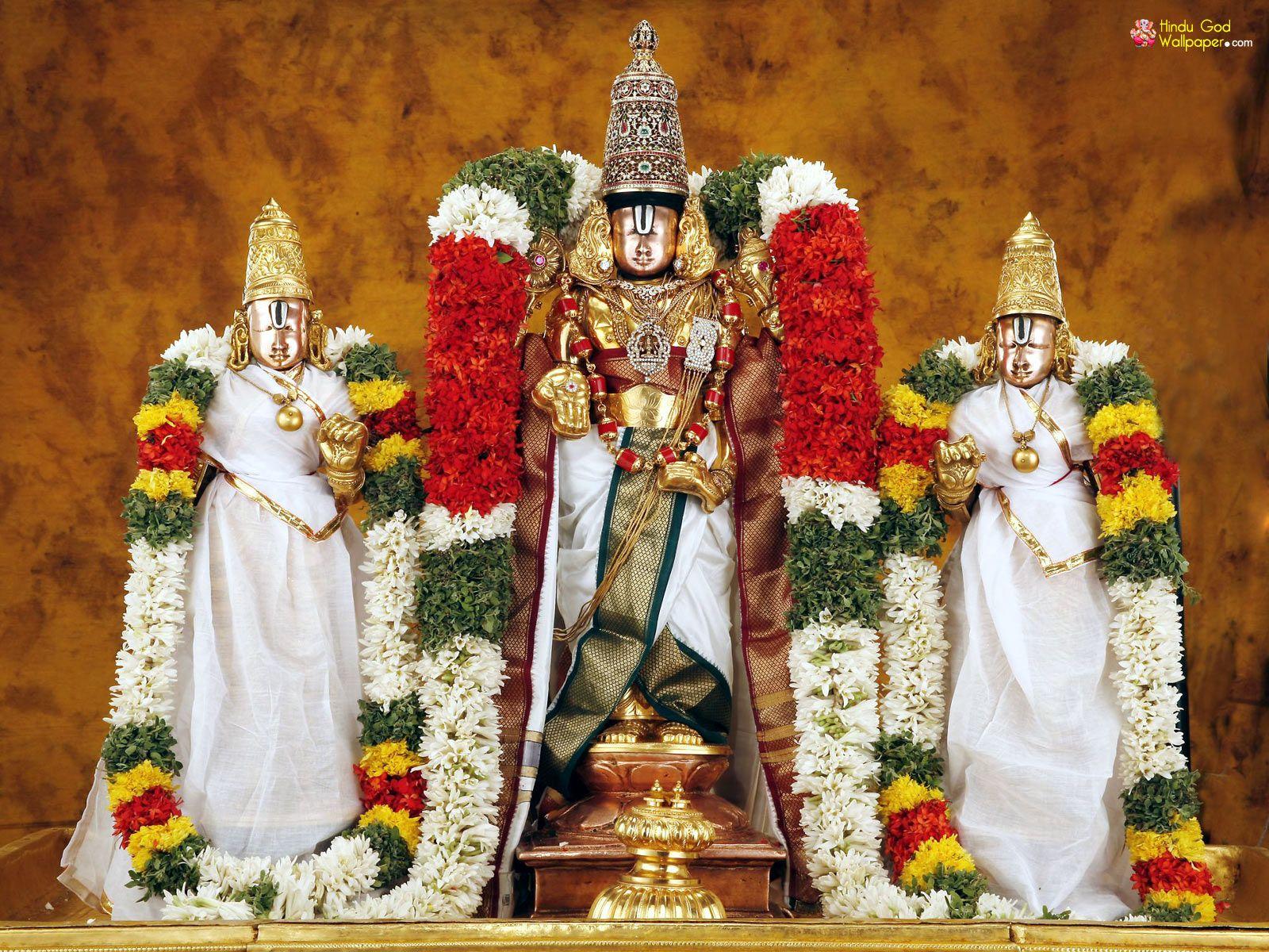 Tirupati Tirumala Lord Venkateswara Swamy Wallpapers Download