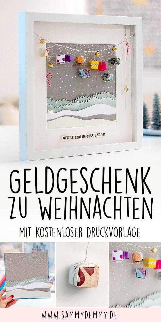 Photo of Geldgeschenk Ideen für Weihnachten: DIY Geldgeschenke selber machen