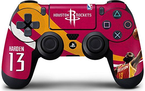 NBA - James Harden Action Shot Skin for PlayStation 4 / PS4 DualShock4 Controller Skinit http://www.amazon.com/dp/B00WNAPVJA/ref=cm_sw_r_pi_dp_.O.lwb0RJ26ZF