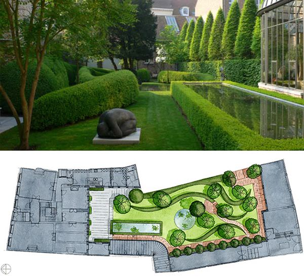 Private Garden Bruges Belgium 2001 2002image Wirtz