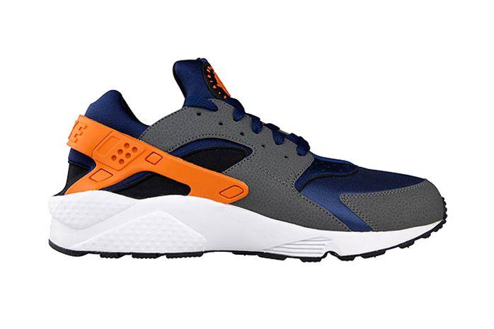 2a7e10403d6 Nike Air Huarache Brave Blue Urban Orange