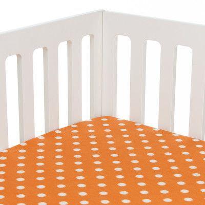 Sweet Potato by Glenna Jean Rhythm Fitted Crib Sheet