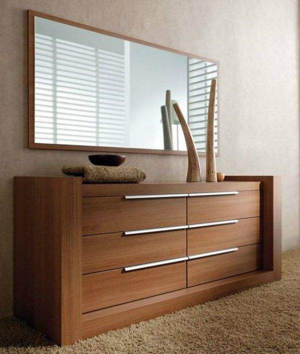C moda para quarto de casal m veis pinterest comoda for Living de madera modernos