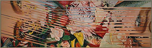 James Rosenquist, American, born 1933, Flowers, Fish, and Females, 1984