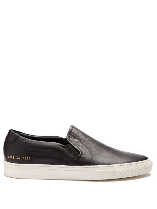 COMMON PROJECTS Retro leather slip-on