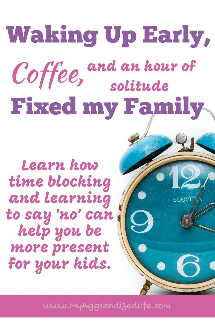 Time management for mom: learn to do the main thing with the children in your arms